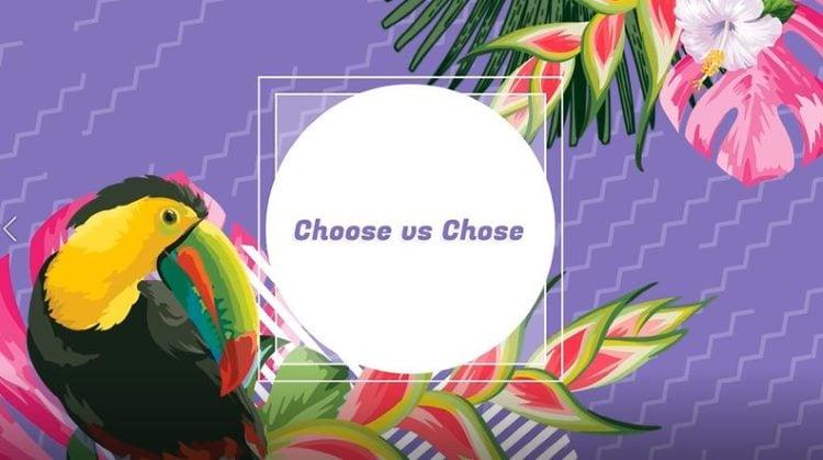 chosen vs choosen, Language Skills Abroad
