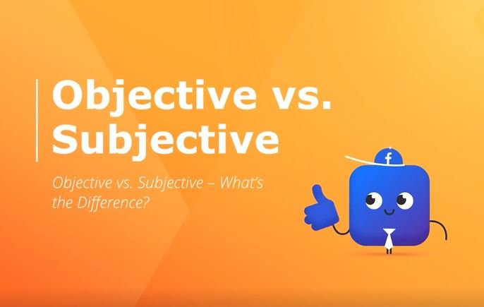 objective vs  subjective difference