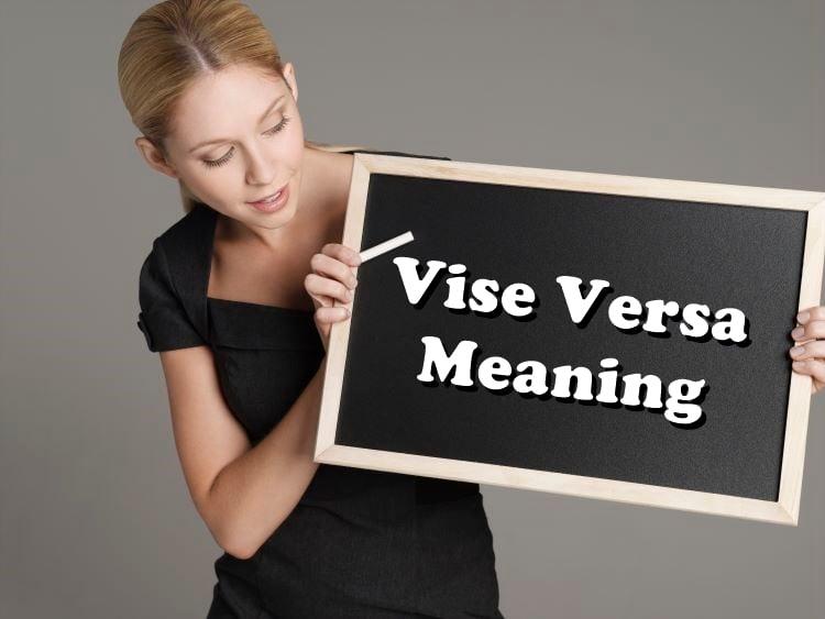 Vice vs. Versa